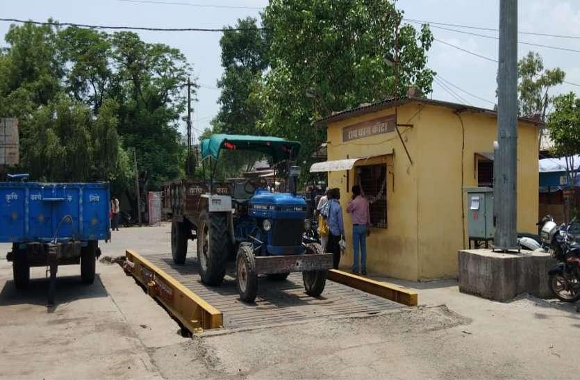 धर्मकांटा शुरू होने से किसानों को राहत, तुलाई के लिए नहीं करना पड़ता है घंटों इंतजार
