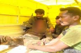 नारायणपुर में नक्सालियों ने किया आईडी विस्फोट, एक जवान घायल