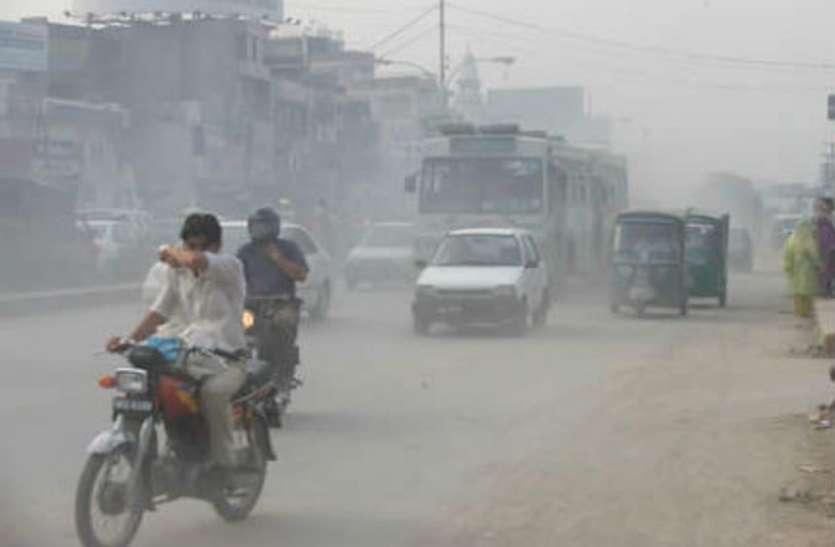 राजधानी समेत यूपी के इन शहरों में बड़े पैमाने पर बढ़ा प्रदूषण का स्तर