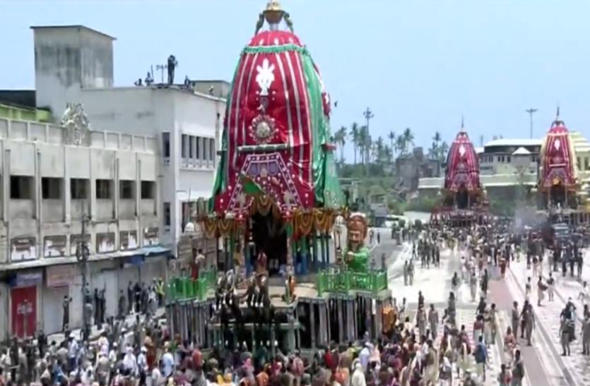 Jagannath Rath Yatra 2020: मौसी के घर 'गुंडिचा मंदिर' के लिए रवाना हुए महाप्रभु, Live देख सकते हैं श्रद्धालु