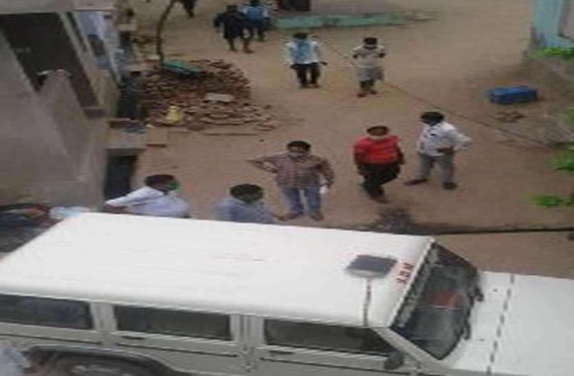 मानपुर के कोरोना संक्रमित की जयपुर में मौत