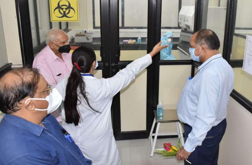 Ahmedabad News :  वडनगर में कोरोना संक्रमण परीक्षण की आधुनिक प्रयोगशाला शुरू