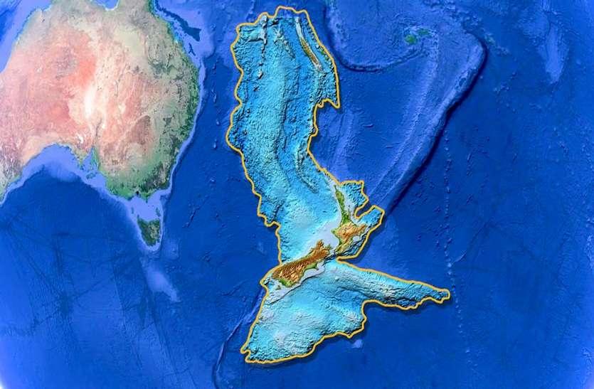 ZEALANDIA : प्रशांत महासागर की गहराई में मिला दुनिया का आठवां महाद्वीप 'जीलैंडिया'
