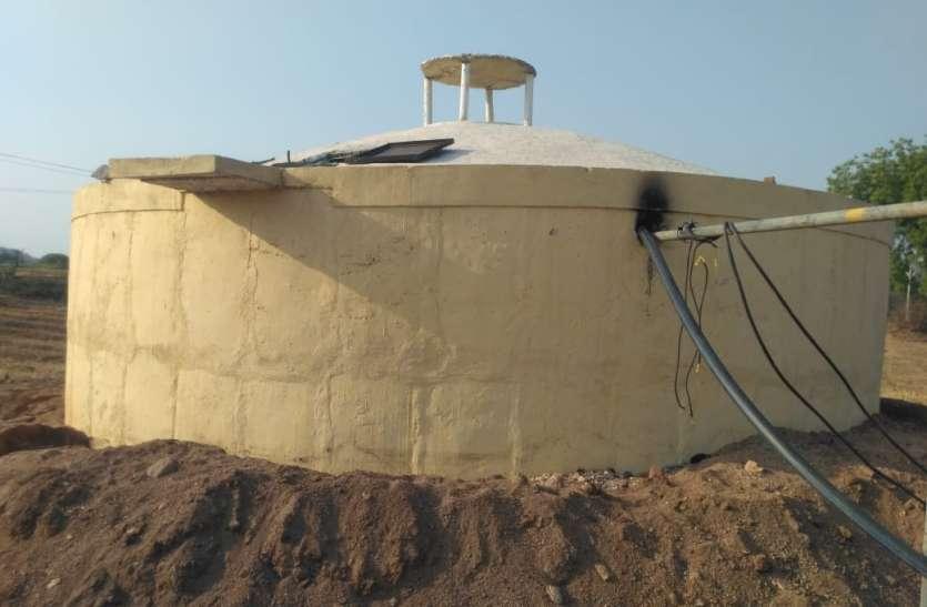 पानी सप्लाई की योजना अधूरी फिर भी ठेकेदार को कर दिया 1 करोड़ का भुगतान