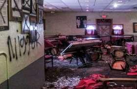 America में फिर हुआ नस्लीय हमला, सिख व्यक्ति के रेस्तरां में तोड़फोड़ कर लिखे गए Hate Messages