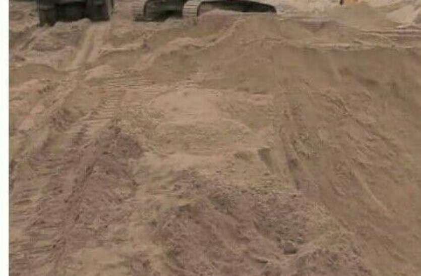 धनलक्ष्मी का कमाल ठेका लेते ही तीन गुना किए रेत के दाम, खनन में नियम दरकिनार