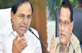 वरिष्ठ आईपीएस के आरोपों से तेलंगाना सरकार मुश्किल में