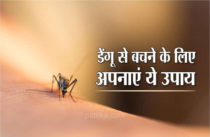 बरसात में बढ़ जाता है डेंगू का खतरा, इसलिए पूरी तरह से रहें सावधान