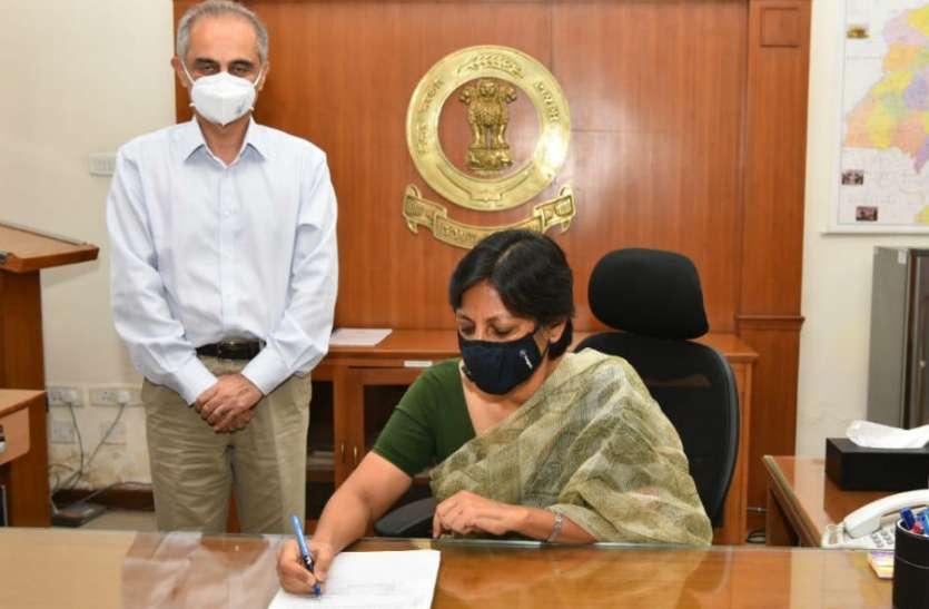 विनी महाजन पंजाब की पहली महिला मुख्य सचिव, पति DGP