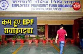 तेजी से घट रहे हैं रोजगार, EPF सब्सक्राइबर की संख्या में 17.8 लाख की गिरावट