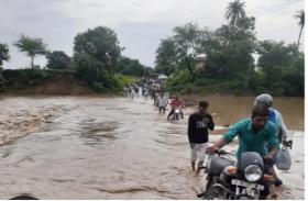 Monsoon Update: एक्टिव हुआ मानसून, पहली बारिश में ही नदी-नाले उफान पर, देखें अपडेट