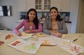 भारतवंशी दो बेटियों ने अकेले बुजुर्गों की खुशी के लिए कुछ ऐसा किया