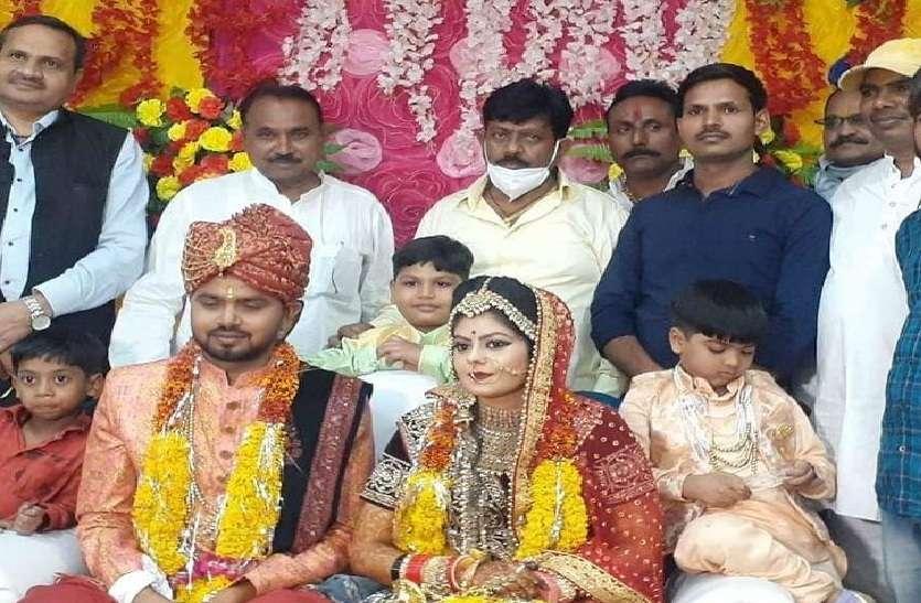 BJP सांसद के बेटे की शादी में बिन मास्क के जमकर उड़ाई गई सोशल डिस्टेंसिंग की धज्जियां, एसडीएम जांच के बाद देंगे बयान