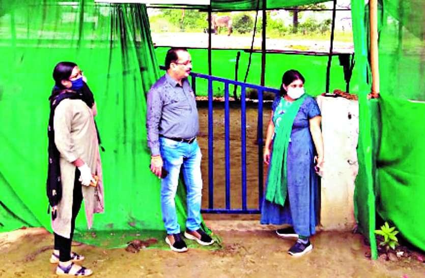 गौ प्रेमी युवाओं द्वारा संचालित गौशाला सहित लालपुर के कांजी हाऊस में रखे जाएंगे सड़कों पर मिले मवेशी ...