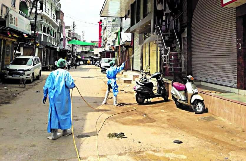 संक्रमित पाए गए दो व्यापारियों के बाद सामुदायिक संक्रमण का बढ़ा खतरा, इलाके में 6 एक्टिव मरीज ...