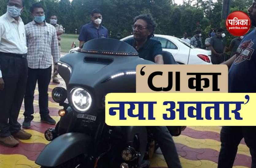 Super Bike पर नजर CJI SA Bobde, सोशल मीडिया पर तस्वीर वायरल