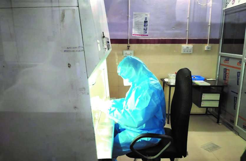मेडिकल कॉलेज में ट्रू नेट मशीन से कोरोना की जांच शुरु, 5 संदेहियों की सिर्फ 3 घंटे में ही मिल गई रिपोर्ट