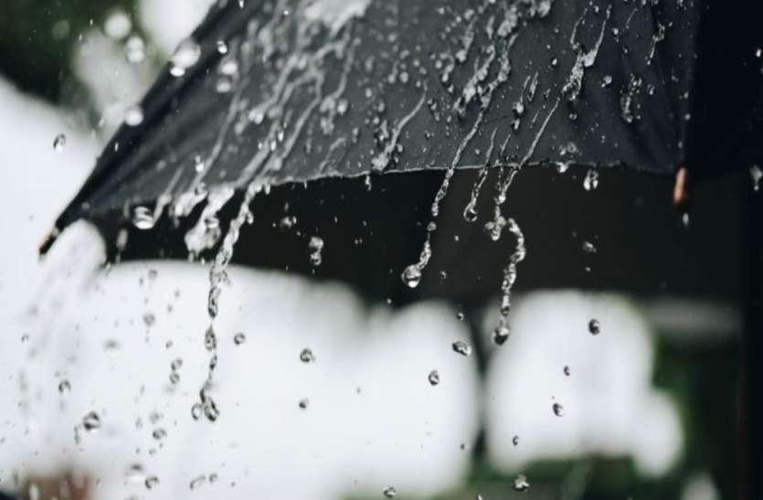बादल छाए,छिटपुट बारिश तक सिमटा मानसून