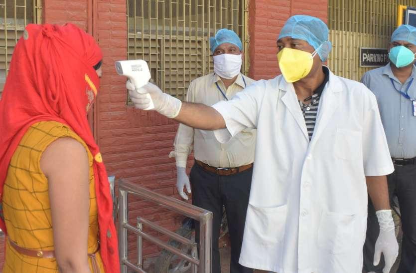 जिले में नहीं थम रही कोरोना की रफ्तार,एक दिन में निकले 38 मरीज