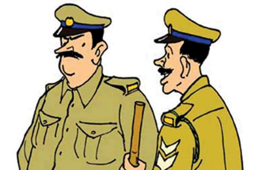 जिले में निरीक्षकों का टोंटा, 29 में से 11 थानों में है पदस्थापना