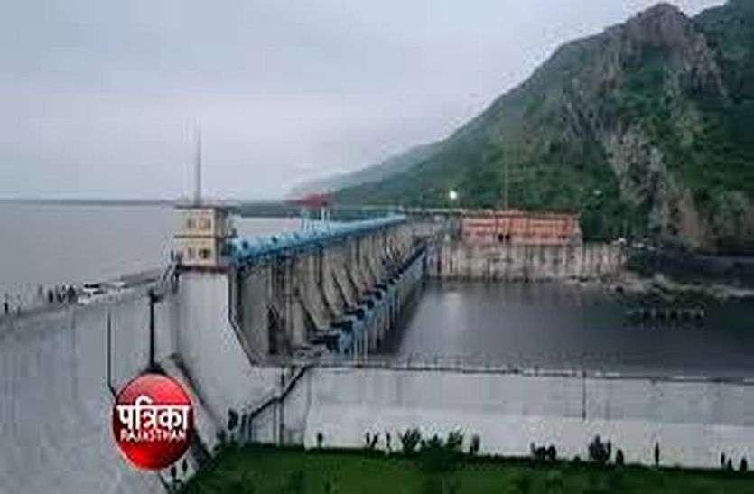 बीसलपुर बांध में अभी 312.83 आरएल मीटर पानी