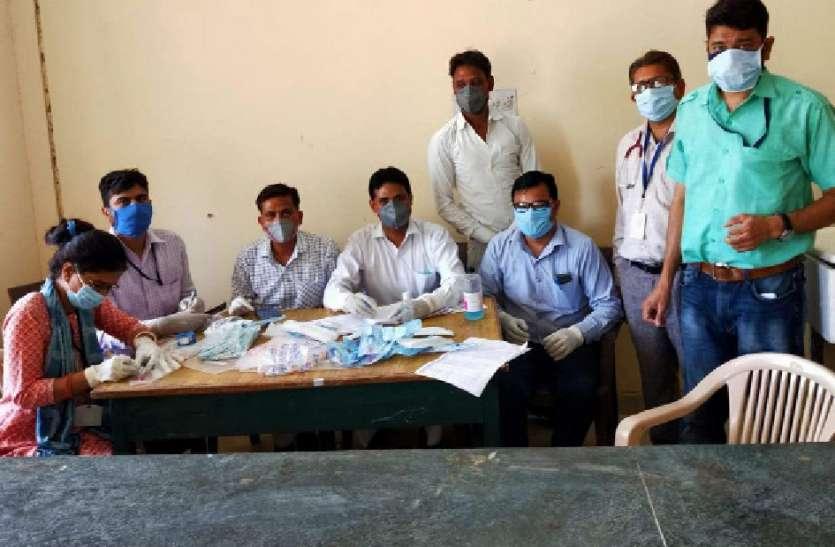 नैनवां सीएचसी में 84 लोगों के सेम्पल लिए