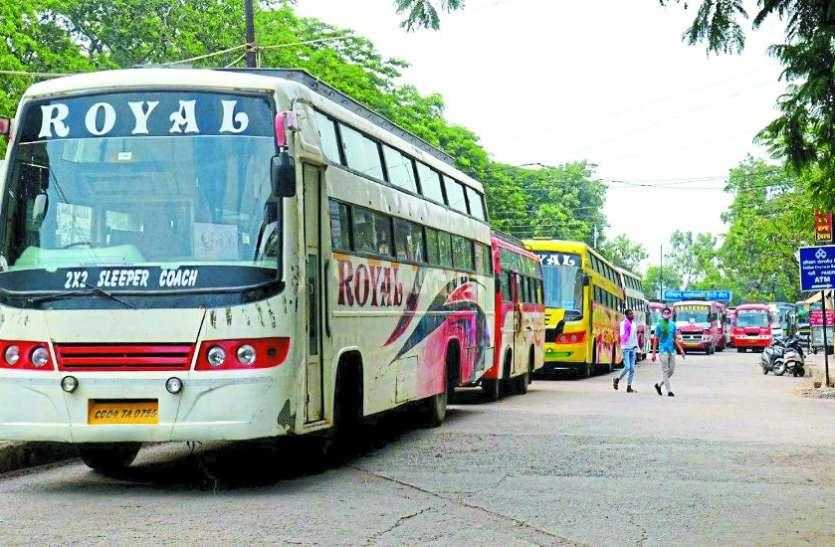 बसों के पहिए लॉक होने से करीब 20 लाख यात्रियों की जिंदगी थमी