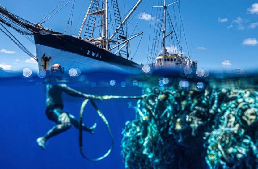 प्लास्टिक की नाव ने प्रशांत महासागर से निकाला 103 टन का कचरा, बन गया World record