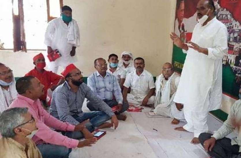 पूर्व मंत्री ने योगी सरकार पर साधा निशाना, कहा- अब गांव-गांव भाजपा के कारनामों को बताएंगे सपाई