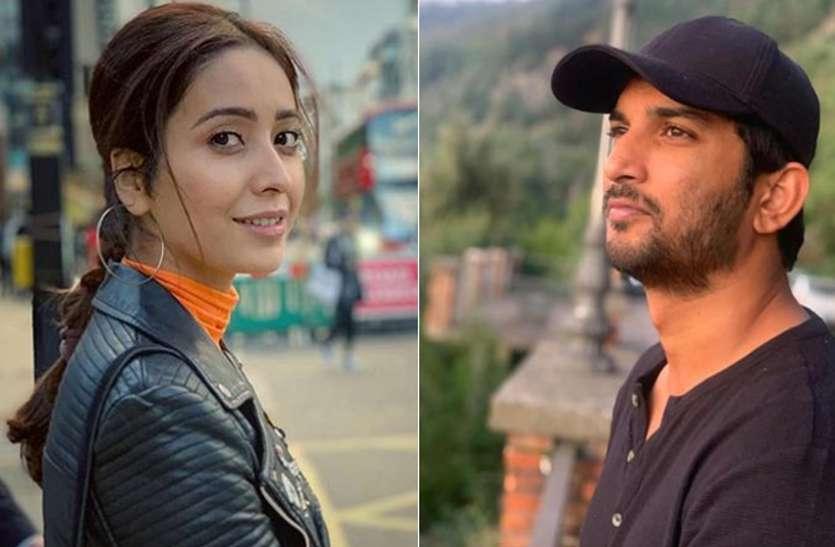 सुशांत की ऑनस्क्रीन बेटी ने पूछा, भावनाओं का इजहार सोशल मीडिया पर जरूरी है?