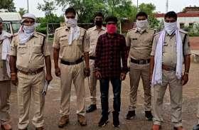 पुलिस को मिली बड़ी कामयाबी, ईनामी डकैत गिरफ्तार