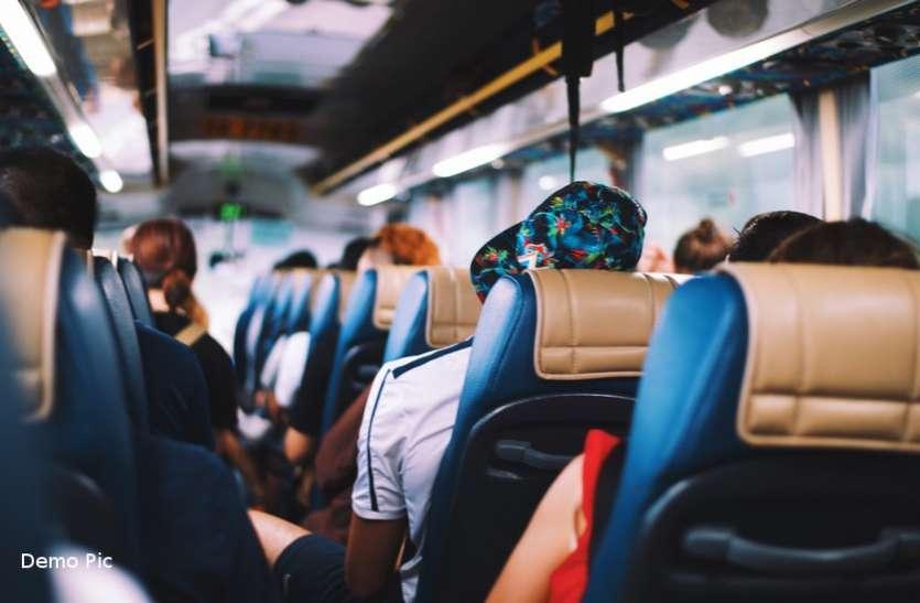 बसों के बंद होने से 20 लाख यात्रियों की जिंदगी थमी