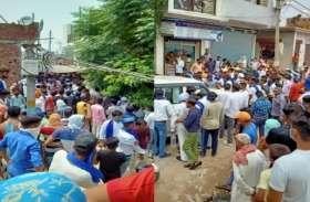 Meerut: पुलिस को चकमा देकर पीड़ित परिवार से मिलने पहुंचे चंद्रशेखर, सोशल डिस्टेंसिंग की उड़ी धज्जियां