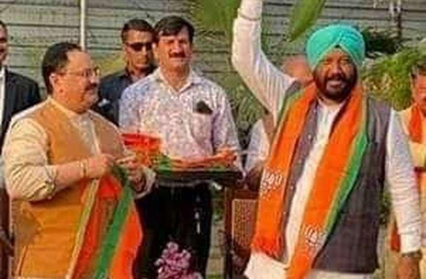कंाग्रेस को सबसे पहले छोडऩे वाले डंग को मिला इनाम, बने केबिनेट मंत्री
