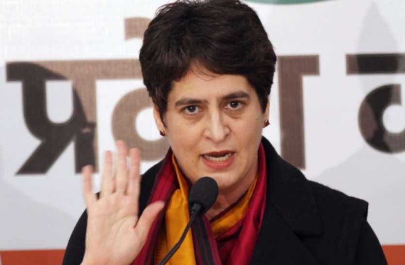 यूपी सरकार जमीनी हकीकत से मुंह मोड़े बैठी है : प्रियंका गांधी