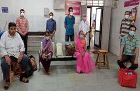 Ahmedabad News : पाटण के 7, सुरेन्द्रनगर के 5 रोगियों को अस्पतालों से छुट्टी