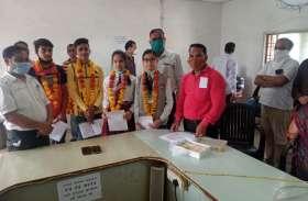 हाई स्कूल की मेरिट लिस्ट में नरसिंहपुर का दबदबा  तीन छात्राएं और एक छात्र शामिल