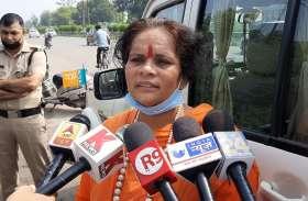 साध्वी प्राची ने साधा प्रियंका कांग्रेस और चाइना पर निशाना
