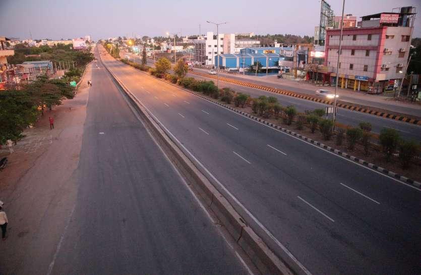 बेंगलूरु में आज शाम से 33 घंटे का कर्फ्यू