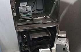 Moradabad: मात्र 20 मिनट में एटीएमकाटकर 16 लाख लूट ले गए बदमाश