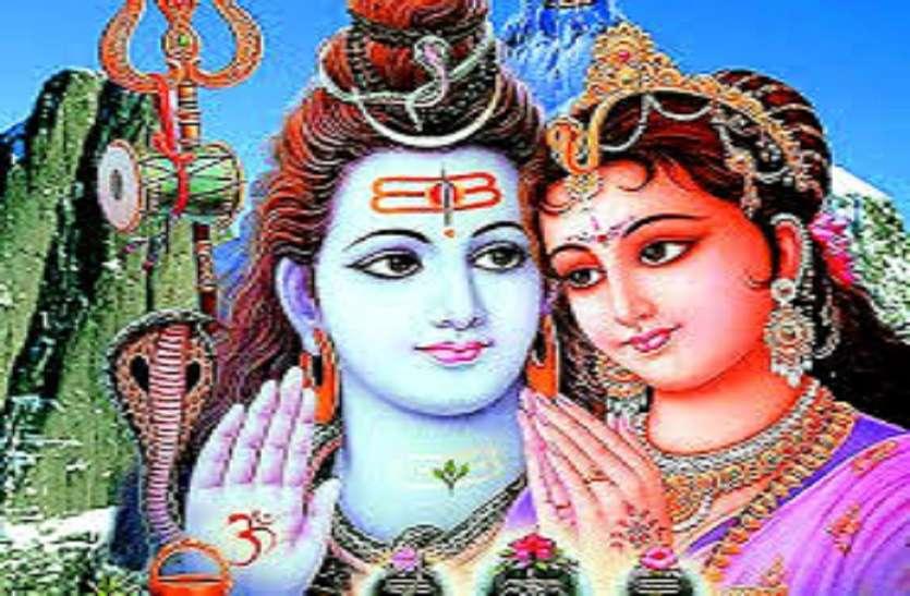 Lord Shiv and Goddess Parvati