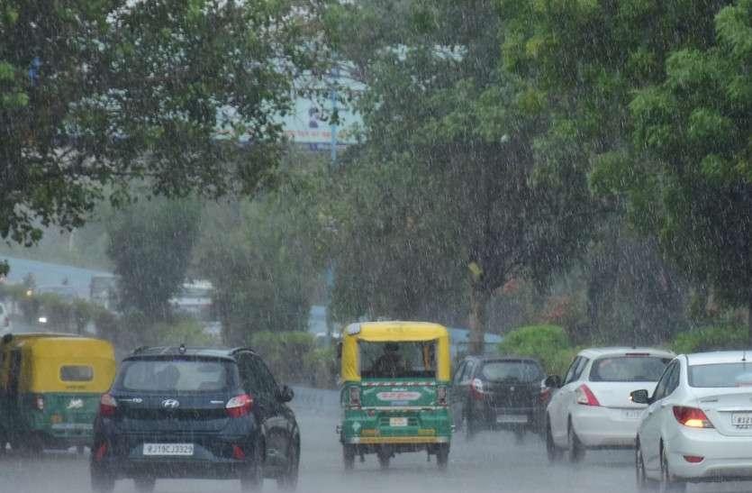 राजस्थान में सक्रिय हो रहा मानसून, भरतपुर और जयपुर संभाग में भारी बारिश की चेतावनी
