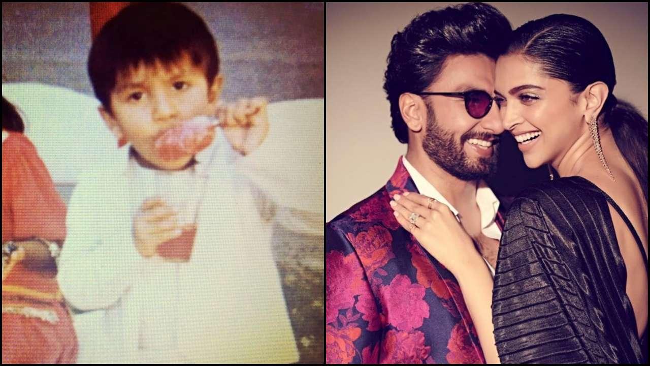 Ranveer Singh Childhood Photos