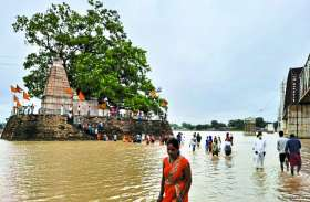 सोमवार को कुलेश्वरनाथ महादेव मंदिर में दिखा श्रद्धा का सैलाब
