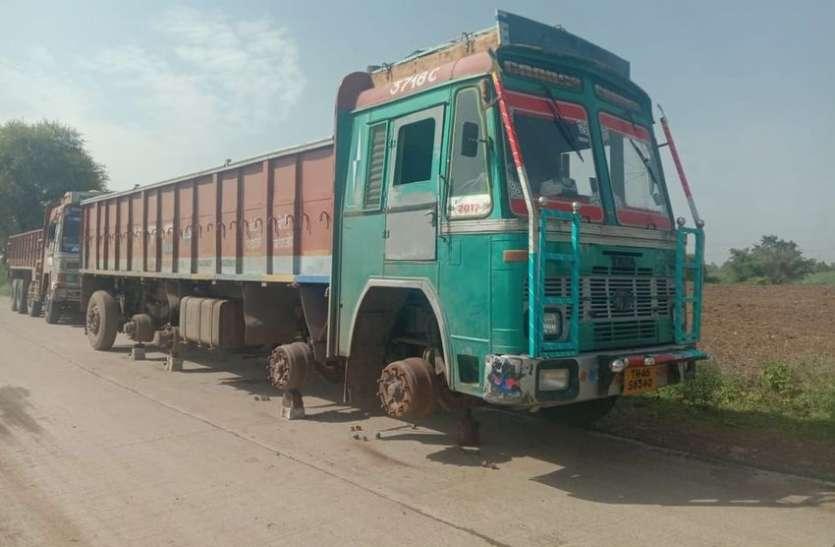 ग्वालियर के चोरों ने नरसिंहपुर में की वारदात