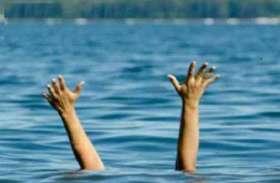 राजस्थान के दो बालकों की नहाते समय इंदिरा सागर डेम के बैकवाटर में डूबने से मौत