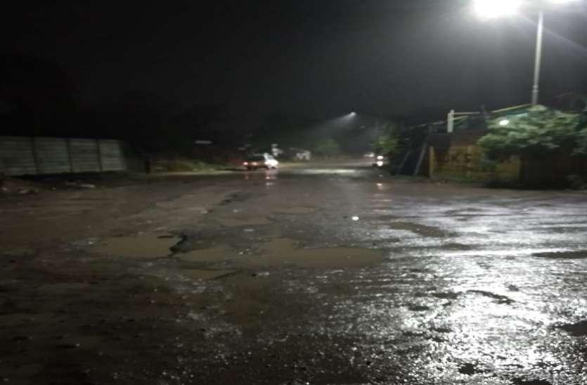 देवभूमि द्वारका में मौसम की 100 फीसदी से अधिक बारिश