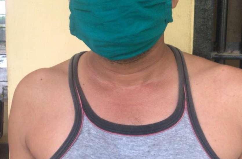 महिला पर फायरिंग का आरोपी एसयूवी में घूम रहा था हथियार लेकर, गिरफ्तार