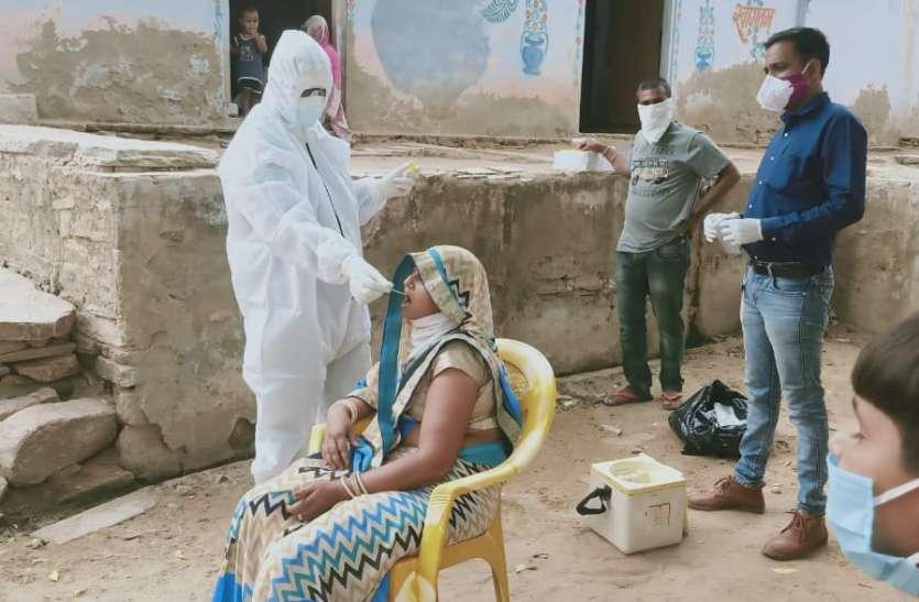 अजीतगढ़ क्षेत्र में फूटा कोरोना बम, एक ही दिन में तीन गांवों में कोरोना पॉजिटिव मिले