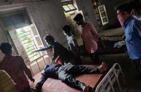 मजदूरी करने गई युवक की नीचे गिरने से मौत